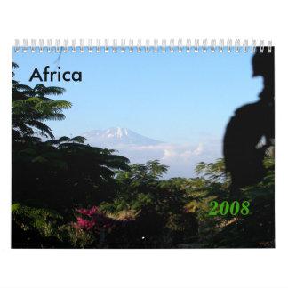 Africa Mt. Kilimanjaro Calendar