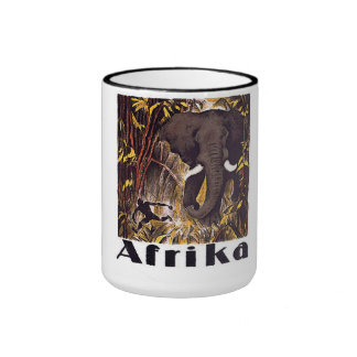 Africa Ringer Coffee Mug