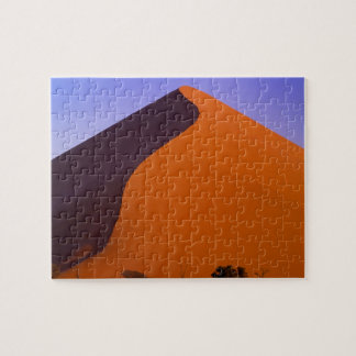 Africa, Namibia, Namib NP, Sossusvlei, Sand Puzzle