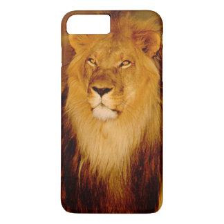 Africa, Namibia, Okonjima. Lone male lion iPhone 8 Plus/7 Plus Case