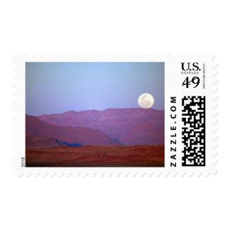 África, Namibia, Sossusvlei. Restos de una Luna Sello Postal