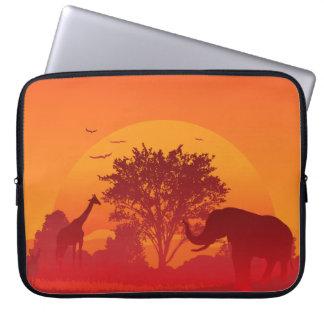 Africa Neoprene Laptop Sleeve 15 inch