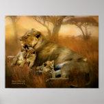 Africa - New Life Art Poster/Print