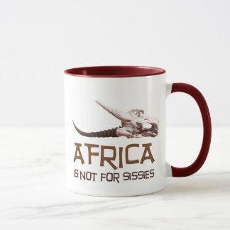 África no está para las mariquitas: Cráneo