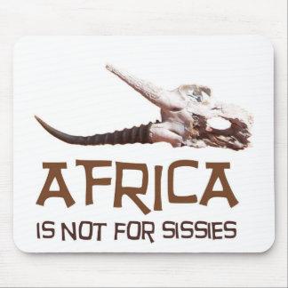 África no está para las mariquitas: Cráneo Alfombrilla De Raton
