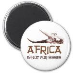 África no está para las mariquitas, él es el conti iman para frigorífico