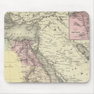 Africa North Eastern Sheet Mouse Pad