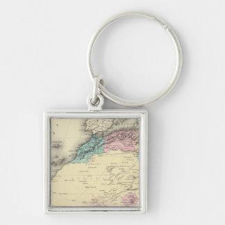 Africa North Western Sheet Keychain