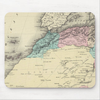 Africa North Western Sheet Mouse Pad