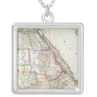 Africa Northeast Square Pendant Necklace