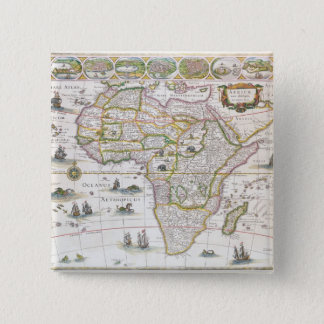 Africa Nova, c.1617 Button