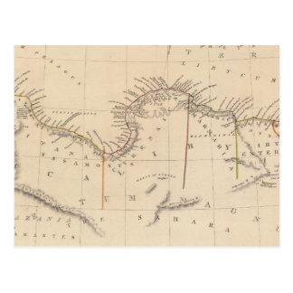 África o Libia antigua II Postal