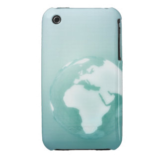 Africa on Globe Case-Mate iPhone 3 Case