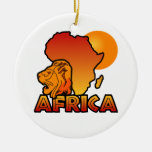 Africa ornament