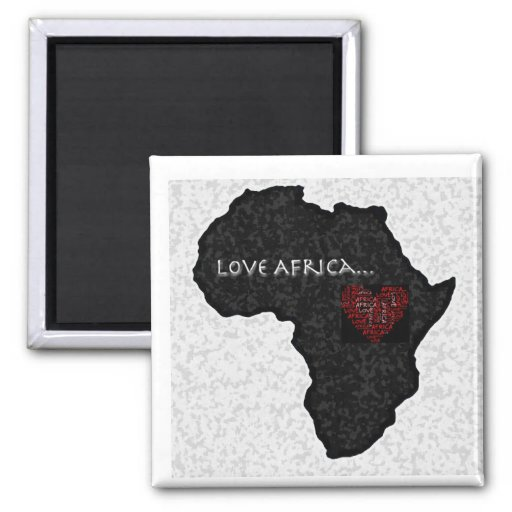 Africa_outline_bw copy 2 inch square magnet