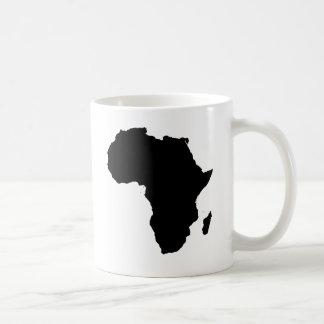 Africa Outline Map Customizable Product Coffee Mug