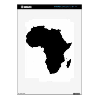 Africa Outline Map Customizable Product iPad 3 Skin