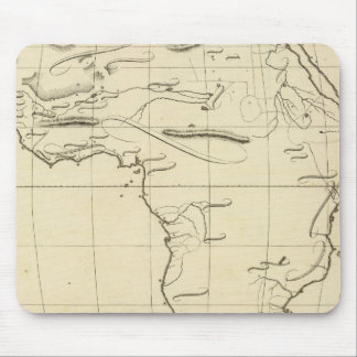 Africa outline mouse pad