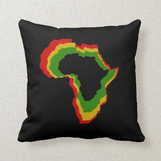"""""""Africa - Pan African Colors"""" [a] Throw Pillow"""