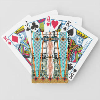 Africa Panel Accessory Bicycle Playing Cards