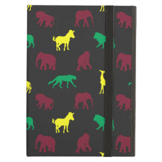 Africa Pattern Dark iPad Air Cover