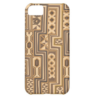 Africa Patterns: Brown abstract African art iPhone 5C Case