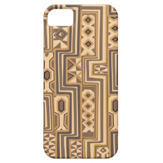 Africa Patterns: Brown abstract African art iPhone SE/5/5s Case