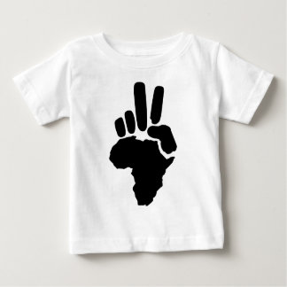 Africa Peace Baby T-Shirt