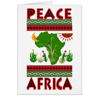 Africa Peace Card