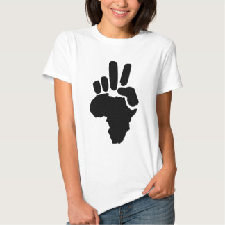 Africa Peace T Shirts