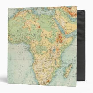 Africa Physical 10506 3 Ring Binder