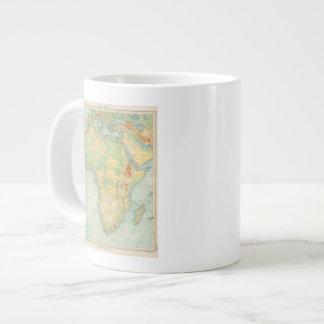 Africa Physical 10506 Large Coffee Mug