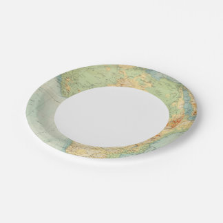 Africa Physical 10506 7 Inch Paper Plate