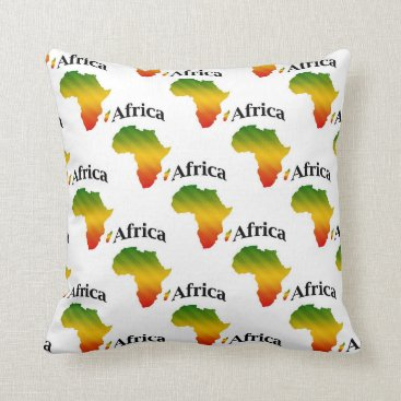 frankiesdaughter Africa Pillow