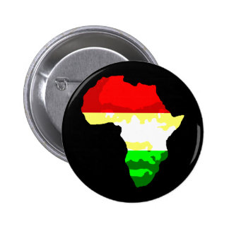 África Pin Redondo De 2 Pulgadas
