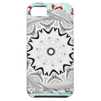 Africa Pink Cyan geometry iPhone SE/5/5s Case
