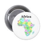 Africa - Political Map Buttons