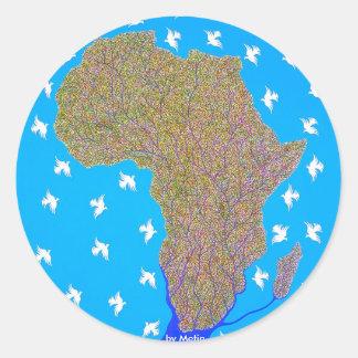 África por Metin Pegatinas
