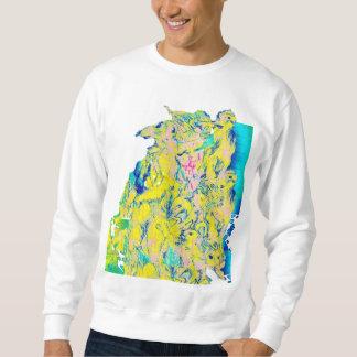 africa pullover sweatshirt