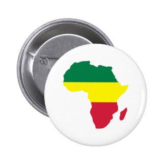 Africa Reggae Pinback Buttons