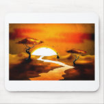 Africa retro vintage style gifts 13 mouse pad