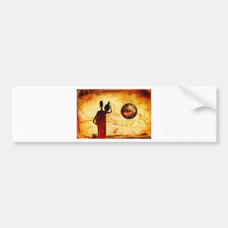 Africa retro vintage style gifts 32 car bumper sticker