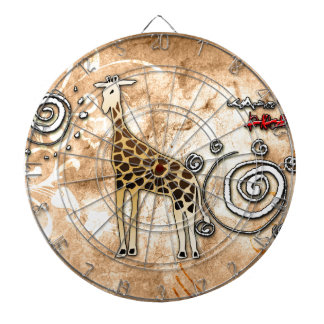 Africa retro vintage style gifts 50 dart boards