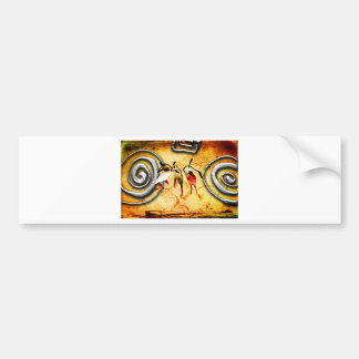 Africa retro vintage style gifts AF064 Car Bumper Sticker