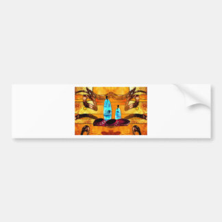 Africa retro vintage style gifts AF079 Car Bumper Sticker