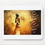 Africa retro vintage style gifts AF087 Mouse Pad