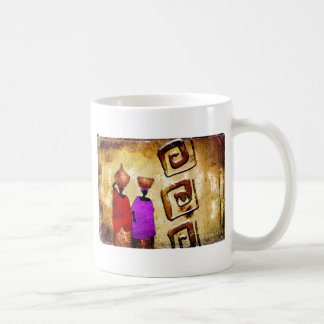 Africa retro vintage style gifts coffee mug