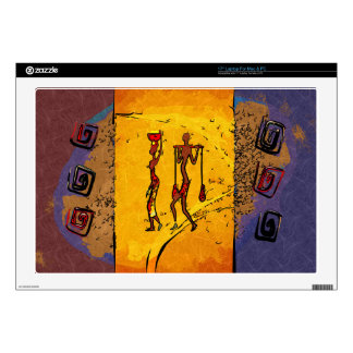 Africa retro vintage style gifts decal for laptop