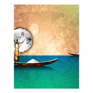 Africa retro vintage style gifts letterhead