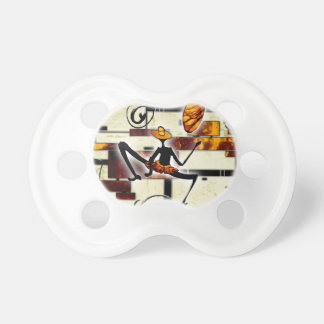 Africa retro vintage style gifts pacifier